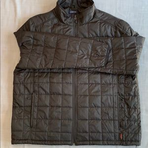 Land's End packable PrimaLoft black jacket